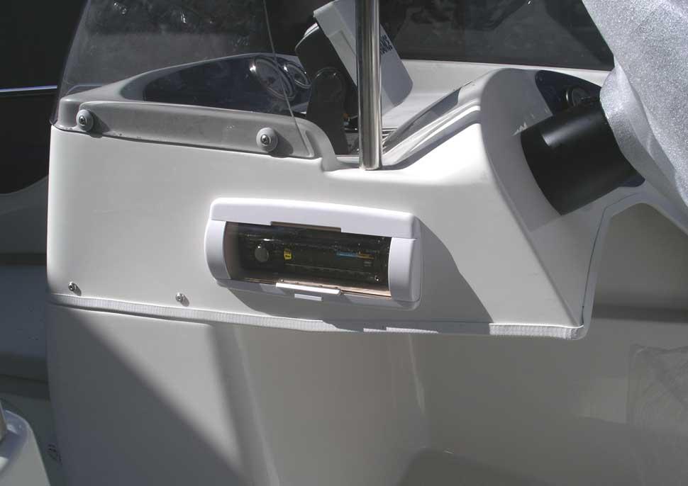 водонепроницаемая магнитола для лодки