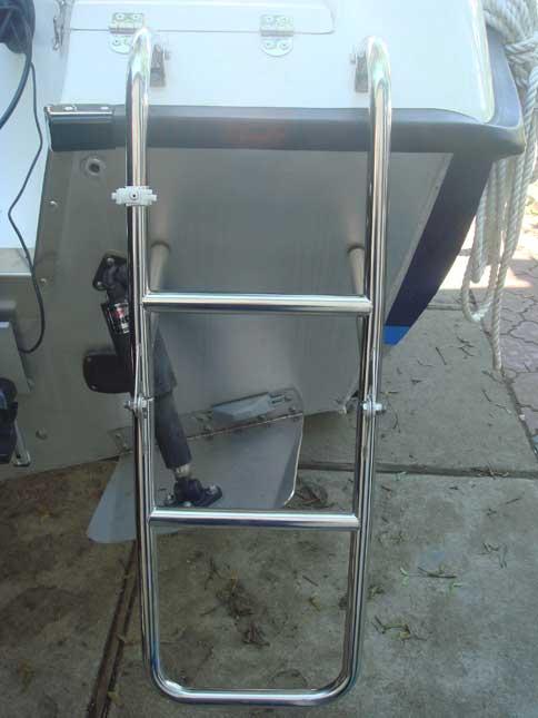лестница на лодку прогресс 4